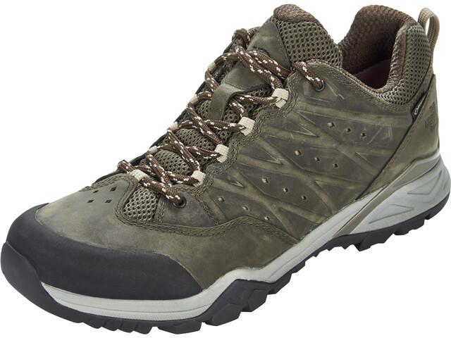 The North Face Hedgehog Hike II GTX Shoes Men tarmac green/burnt olive green